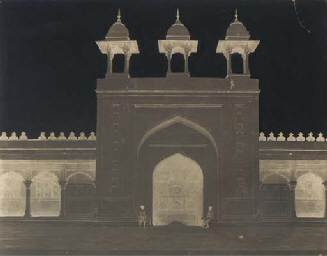 Agra Fort, Pearl Mosque, 1864