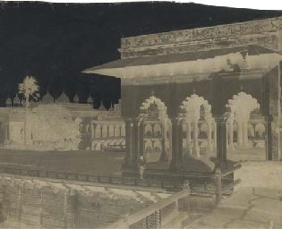 Agra Fort, Marble Palace, c.18