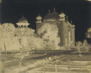 The Taj Mahal, View of the Res