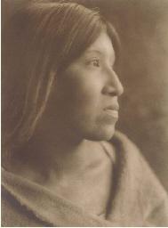 A Desert Cahuilla Woman, 1924