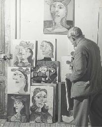 Atelier de M. Picasso, c.1940