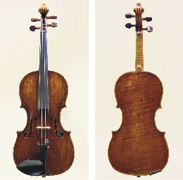 A Viennese Violin by Joannes E