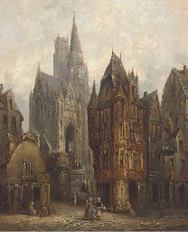 Bruges, Brussels; and Louvain,