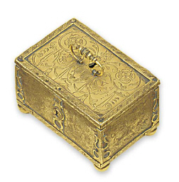 A German brass box or Minnekas
