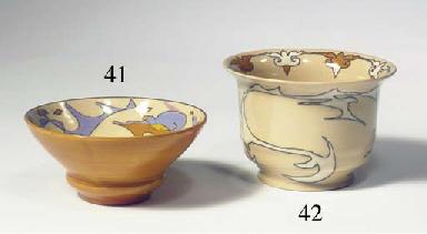 Korrels, a glazed pottery bowl