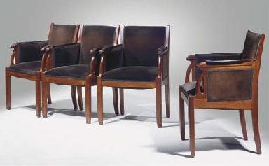 Opus 2215, a set of four mahog