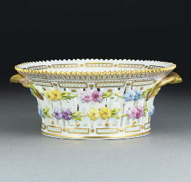 A Royal Copenhagen pierced fla