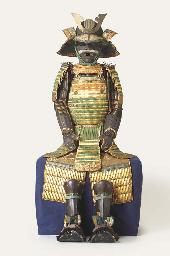 A Warabe Gusoku [armour for a