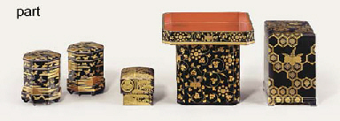 A PAIR OF KAIOKE [BOXES FOR TH