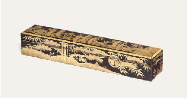 A KUSHI-HARAI-BAKO [COMB BRUSH