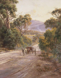 Landscape with Horse and Cart