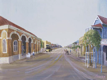 Outback Street Scene
