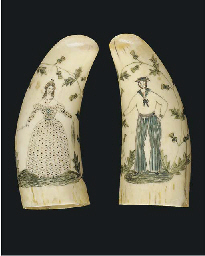 A PAIR OF 19TH-CENTURY SAILOR'