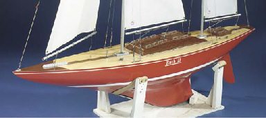 A RADIO-CONTROLLED KETCH-RIGGE