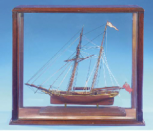 A 19TH-CENTURY SAILOR'S MODEL