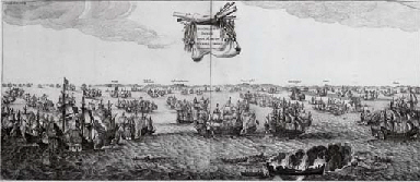 Tromp's victory over the Spani