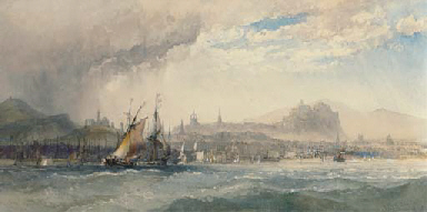 A stiff breeze off Leith with