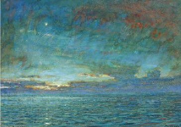 Dawn in the Mediterranean