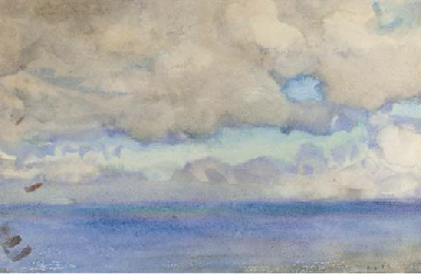 Cloud and sea study