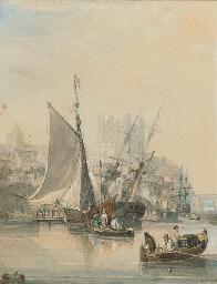 Low tide at Rochester (illustr