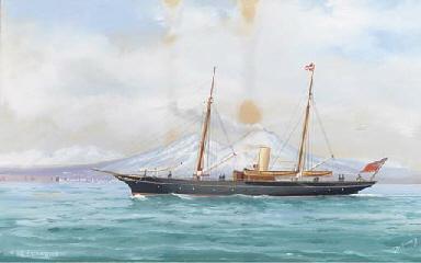 The R.S.C.Y.C. steam yacht Mar