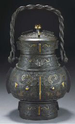 A Chinese archaic style bronze