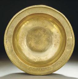 A large Chinese Paktong bowl,