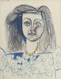 Buste de femme (Françoise Gilo