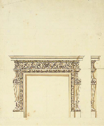 Design for a chimney-piece for