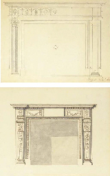 Design for a chimney-piece