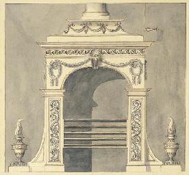 Design for a hall stove