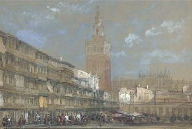 The Moorish Tower at Seville,