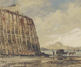 Pier-Head. St. Heliers, Jersey