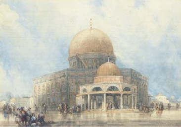 The Dome of the Rock, Jerusale