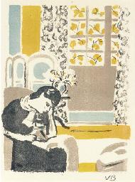 Girl Reading, 1945