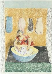 Washerwoman, 1974