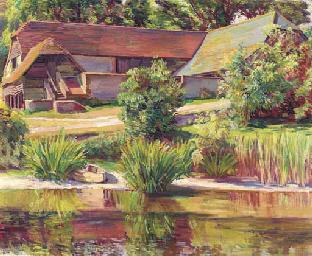 The barn at Charleston