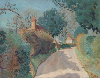 A lane in the Cotswolds