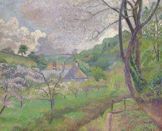 Apple blossom, Riversbridge fa