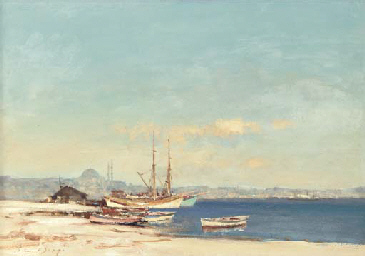 Fishing boats by the Marmara S