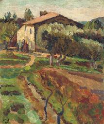 La Bergère, Cassis