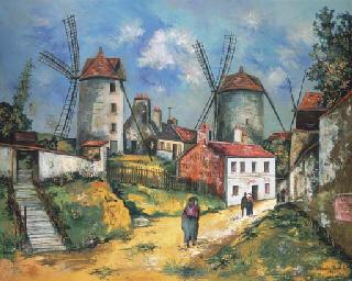 Les anciens moulins de Montmar