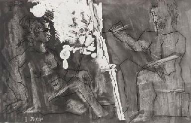 Dans l'atelier (B. 1225; Ba. 1