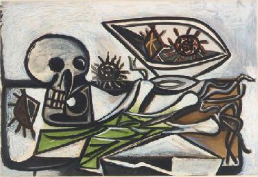 Nature Morte au Crâne