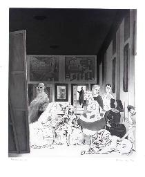 Picasso's Meninas (Lullin 91)