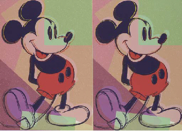 Double Mickey Mouse (F. & S. A