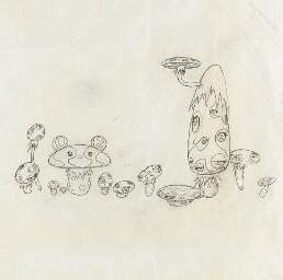 Study for Mushroom Painting #2