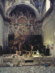 Giulia Zorzetti nella chiesa d