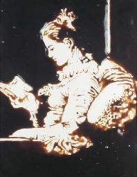 The Reader, after Fragonard (f