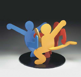 Untitled (Three Dancing Figure